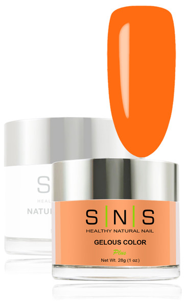 SNS Gelous Dip Powder - SNS 12 Maui Tropical