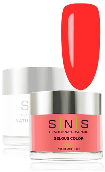 SNS Gelous Dip Powder - SNS  34 Mandarin Orange
