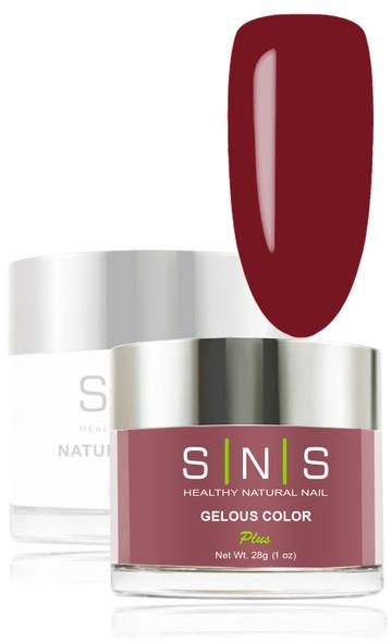 SNS Gelous Dip Powder - SNS 105 Fabulous Cocoa Mauve