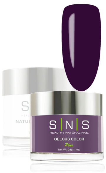 SNS Gelous Dip Powder - SNS 116 Dark Orchid