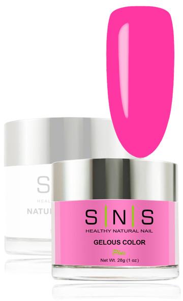 SNS Gelous Dip Powder - SNS 136 Hola Fuchsia
