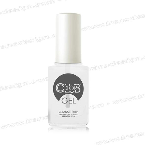 COLOR CLUB GEL - Cleanse + Prep *