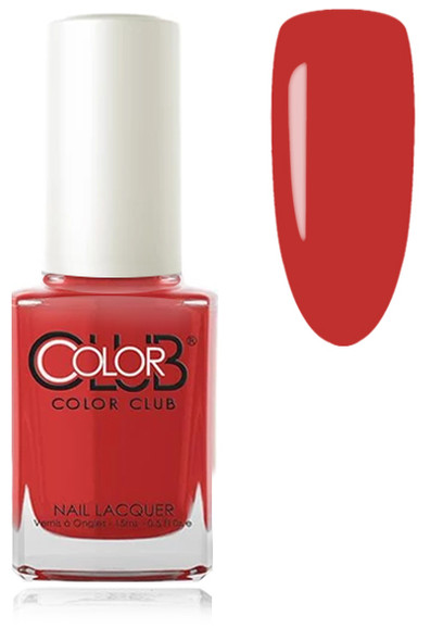 COLOR CLUB NAIL LACQUER - Cadillac Red