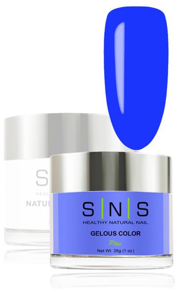 SNS Gelous Dip Powder - SNS 270 Deep Blue Utila