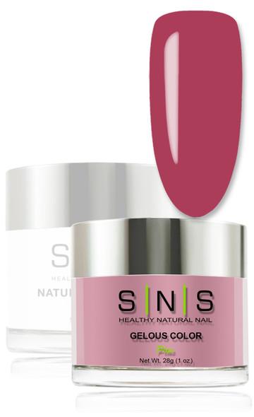 SNS Gelous Dip Powder - IS08 Raspberry Beret