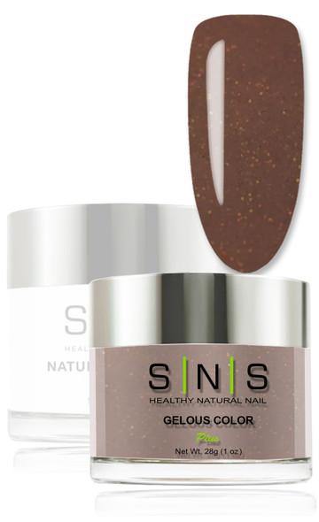 SNS Gelous Dip Powder - IS13 Chocolate Fountain