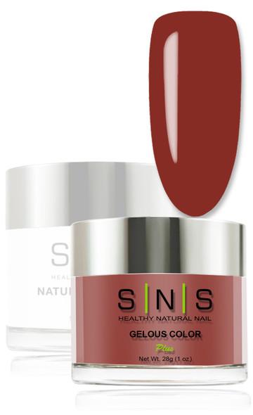 SNS Gelous Dip Powder - IS23 Indian Paintbrush