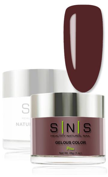 SNS Gelous Dip Powder - IS24 Paint it Plum
