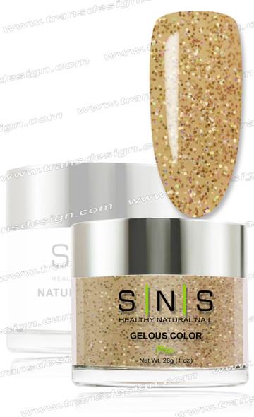 SNS Gelous Dip Powder - IS27 Gold Dust