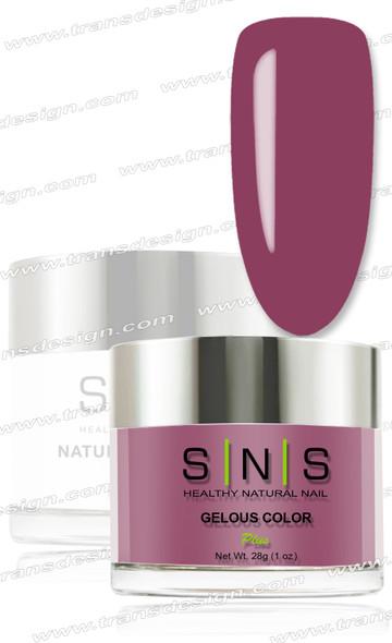SNS Gelous Dip Powder - IS28 Rose Wine
