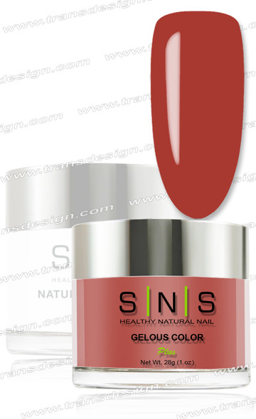 SNS Gelous Dip Powder - IS29 Crimson and Clover