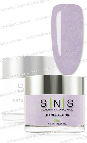 SNS Gelous Dip Powder - IS30 Lilac Lace