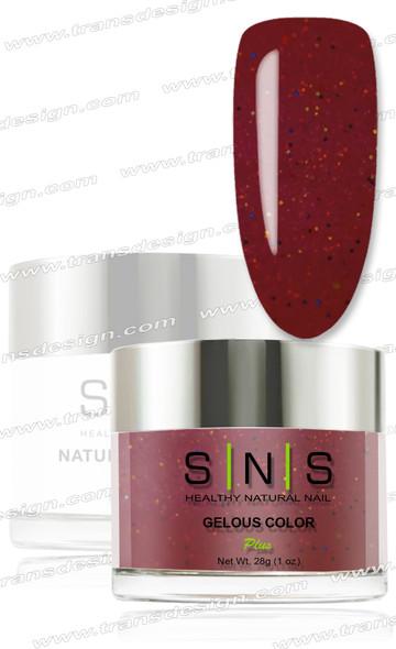 SNS Gelous Dip Powder - IS36 Spooktacular Scarlet
