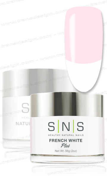 SNS Gelous Dip Powder - French White  2oz.