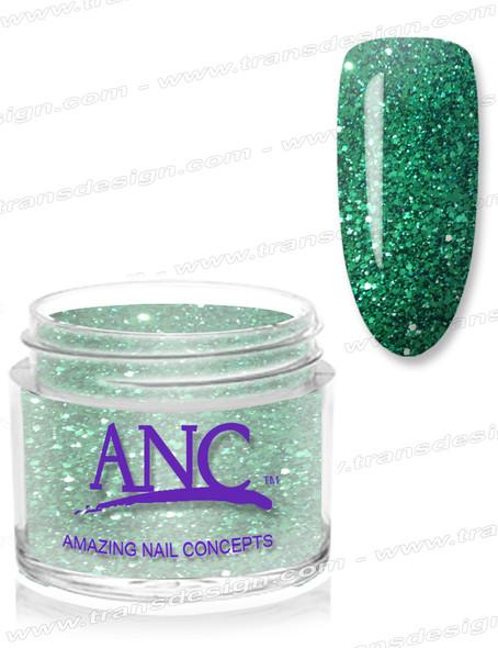 ANC Dip Powder - #42 Lime Glitter 1oz.