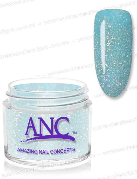 ANC Dip Powder - #67 Aqua Glitter 1oz.