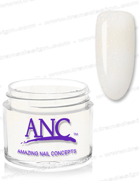 ANC Dip Powder - #103 White Glitter 1oz.