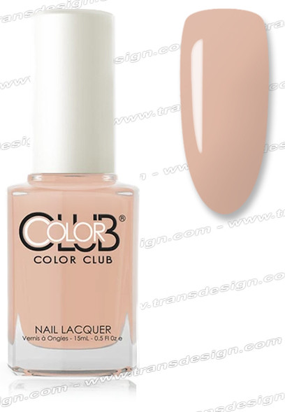 COLOR CLUB NAIL LACQUER - Barely There