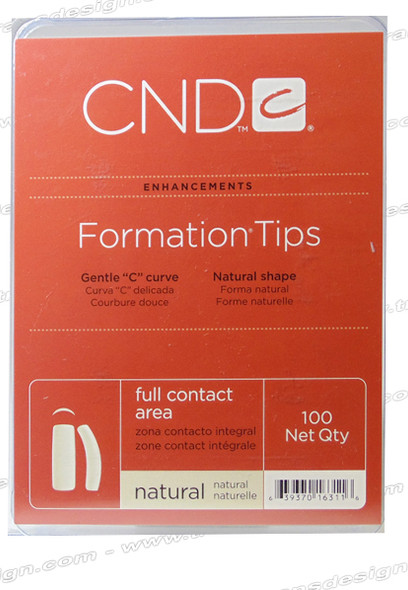 CND - Performance Natural Tips 100/Pack