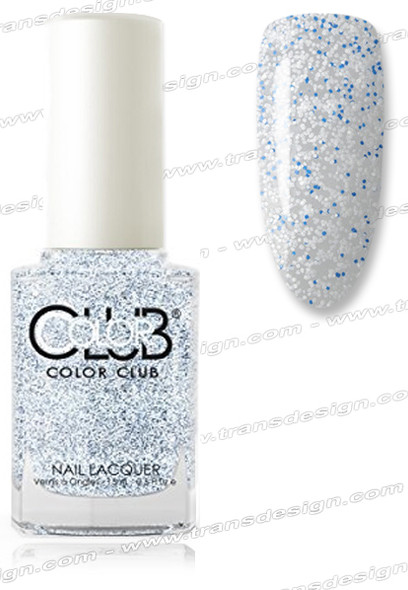 COLOR CLUB NAIL LACQUER - Blue Beaded