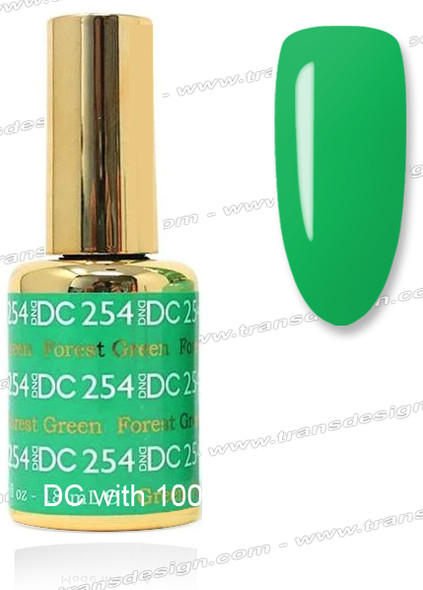 DND DC DUO GEL - Forest Green