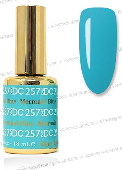 DND DC DUO GEL - Mermaid Blue