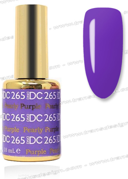 DND DC DUO GEL - Pearly Purple