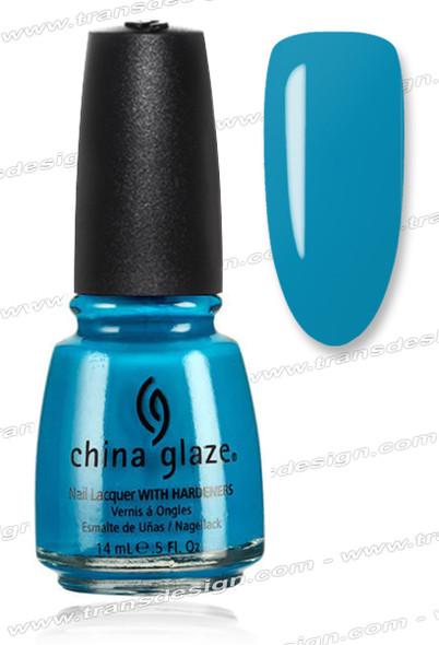 CHINA GLAZE POLISH  - Aqua Baby *