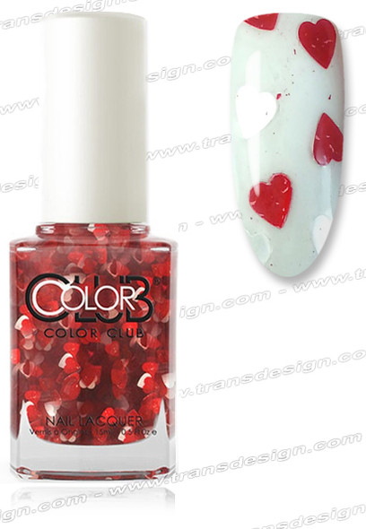 COLOR CLUB NAIL LACQUER - 50 Shades Of Love