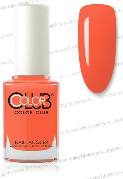 COLOR CLUB NAIL LACQUER - Catch A Fire