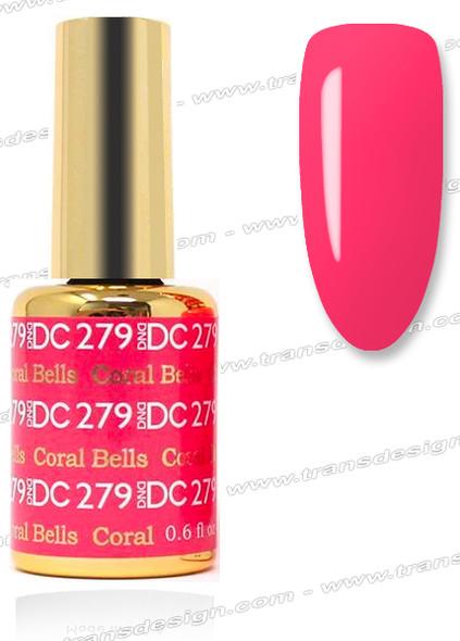 DND DC DUO GEL - Coral Bells