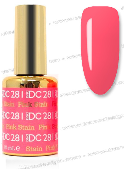 DND DC DUO GEL - Pink Stain
