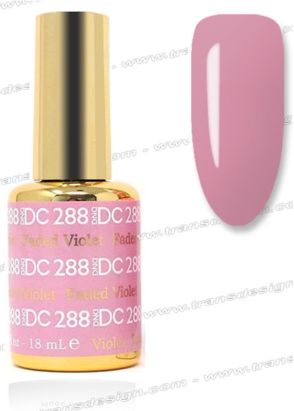 DND DC DUO GEL - Faded Violet