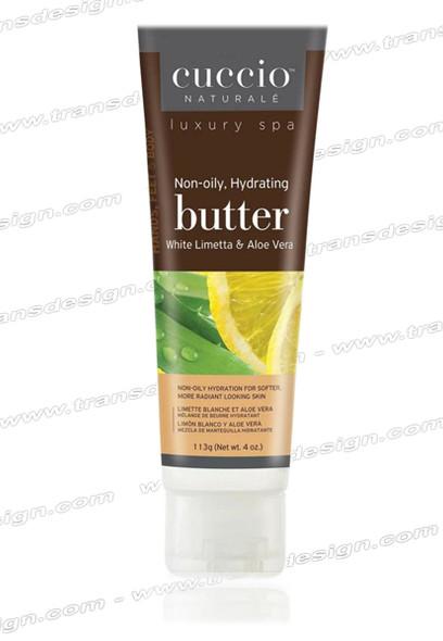 CUCCIO-White Limetta & Aloe Vera  Butter Blend 4oz.
