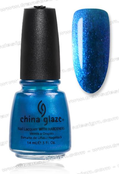 CHINA GLAZE POLISH  - Blue Iguana