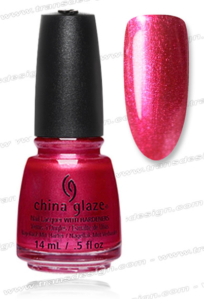 CHINA GLAZE POLISH  - The More The Berrier