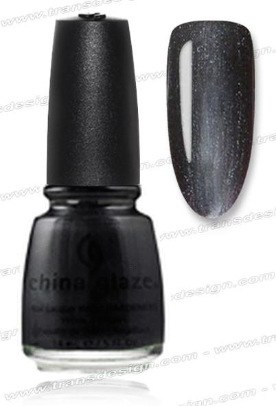 CHINA GLAZE POLISH  - Black Diamond