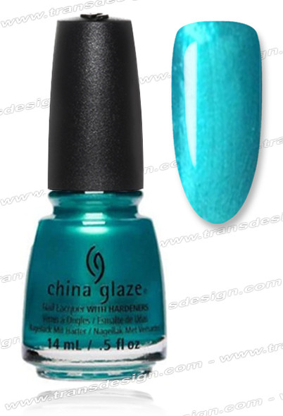 CHINA GLAZE POLISH - Don't Teal My Vibe