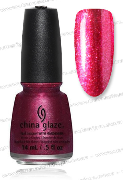 CHINA GLAZE POLISH - Santa Red My List*