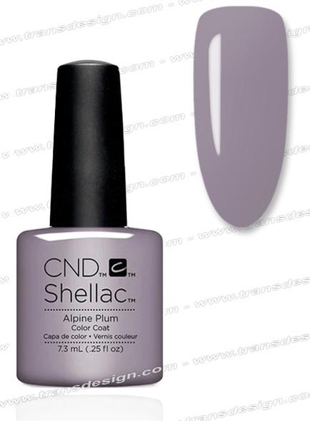 CND SHELLAC - Alpine Plum 0.25oz.