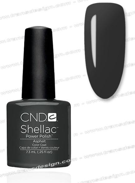 CND SHELLAC - Asphalt