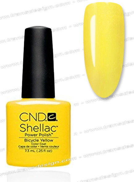 CND SHELLAC - Bicycle Yellow 0.25oz.*