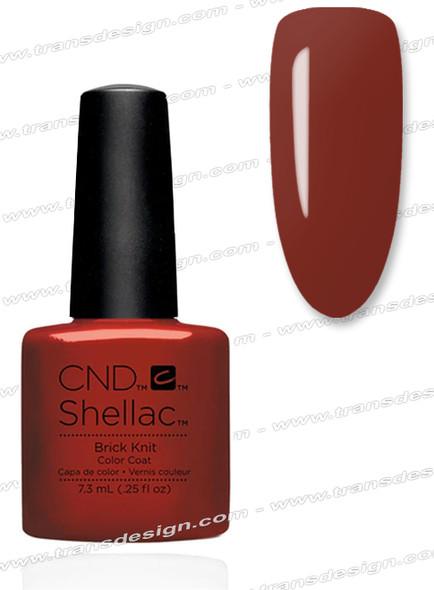 CND SHELLAC - Brick Knit 0.25oz.