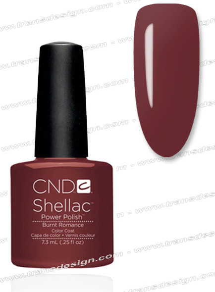 CND SHELLAC - Burnt Romance 0.25oz.