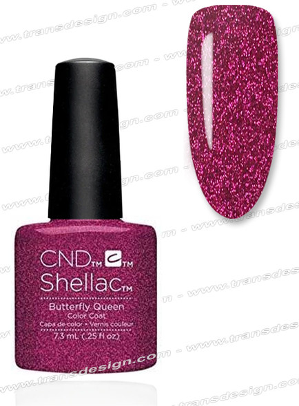 CND SHELLAC - Butterfly Queen 0.25oz.