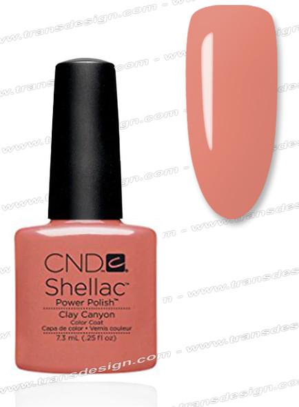 CND SHELLAC - Clay Canyon 0.25oz.