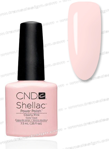 CND SHELLAC - Clearly Pink 0.25oz.