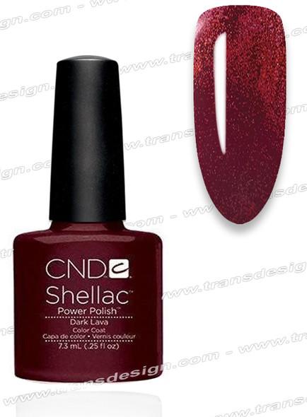 CND SHELLAC - Dark Lava  0.25oz.