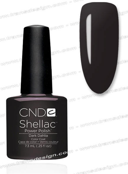CND SHELLAC - Dark Dahlia 0.25oz.