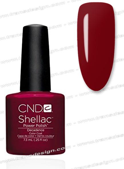 CND SHELLAC - Decadence 0.25oz.